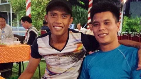 Nguyễn Công Thành (trái) đang chơi khá hay nhưng bất ngờ bị thanh lý hợp đồng
