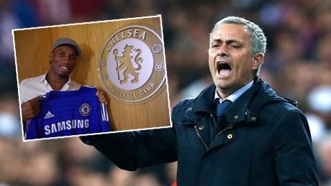 Drogba sẽ là vũ khí của Mourinho để đánh bại Arsenal