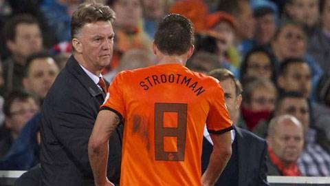 Strootman từng là học trò của Van Gaal ở ĐT Hà Lan
