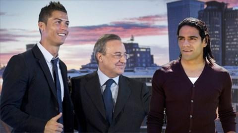 Nhiều khả năng Falcao sẽ là đồng đội của Ronaldo từ mùa tới