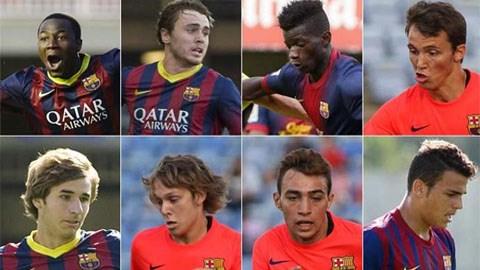 Những gương mặt triển vọng của đội trẻ Barca