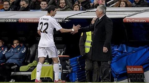 Ancelotti khẳng định Di Maria sẽ không đi đâu cả