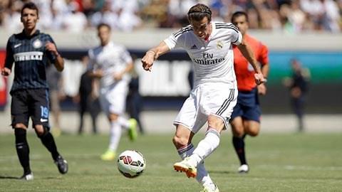 Bale ghi dấu ấn ở trận giao hữu đầu tiên của Real