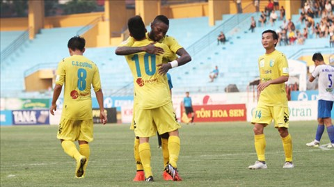 Nhà vô địch V-League đã chấm dứt chuỗi 3 trận liên tiếp không biết thắng