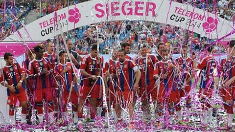 Bayern đăng quang ở Telekom Cup
