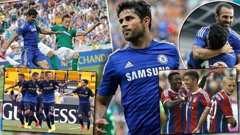 Chelsea, Man City và Bayern toàn thắng