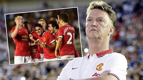 Van Gaal đang từng bước hồi sinh Quỷ đỏ