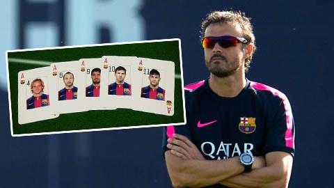 Luis Enrique sẽ thành công ngay ở mùa giải đầu tiên dẫn dắt Barca?