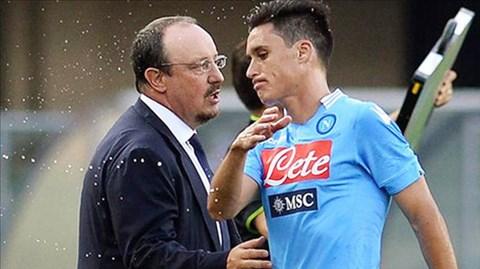 Thái độ của Callejon khiến HLV Benitez rất không hài lòng