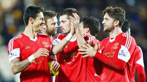 Fonte (trái), Schneiderlin và Jay Rodriguez là những cầu thủ mới nhất có thể sắp rời Southampton