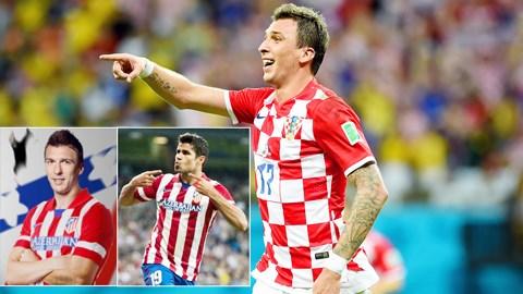 Với đẳng cấp và kinh nghiệm của mình, Mandzukic đủ sức lấp vào chỗ trống Diego Costa để lại