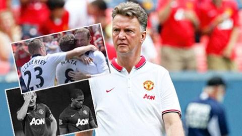 Van Gaal sẽ phải đảm đương sứ mệnh tái sinh Quỷ đỏ
