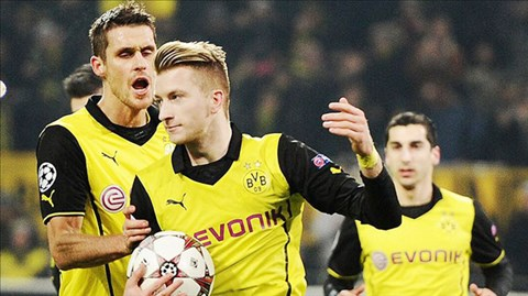 Những cầu thủ người Đức như Reus đang là điểm tựa của Dortmund