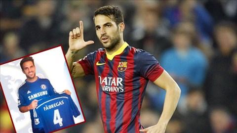 Cách tiếp cận trận đấu rất khác của LuisEnrique là nguyên nhân khiến Fabregas phải ra đi