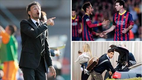 """Không dễ để Luis Enrique ráp nối """"bộ ba hủy diệt"""" để tạo sức mạnh cho Barca"""