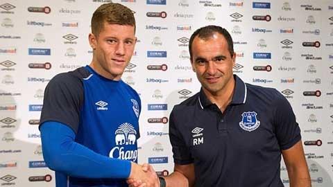 Barkley sẽ gắn bó với Everton đến năm 2018