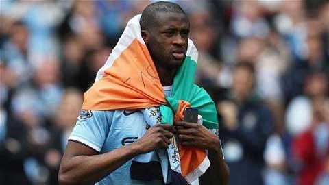 Yaya Toure chưa muốn rời Man City