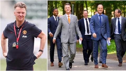 Với Van Gaal, chọn được trợ lý thích hợp sẽ quyết định đến thành công