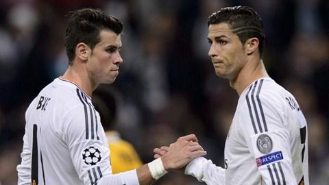 Ronaldo có nguy cơ mất vai trò số 1 vào tay Gareth Bale