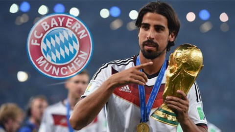 Bayern bất ngờ muốn có Khedira
