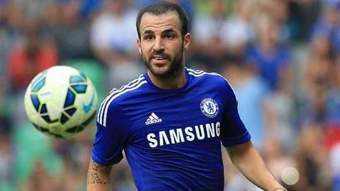 Cesc Fabregas có bàn thắng đầu tiên cho Chelsea