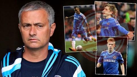Mourinho không ưa dùng những cầu thủ tiềm năng