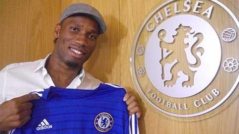 Drogba rất kỳ vọng vào chức vô địch Premier League ở lần trở lại này
