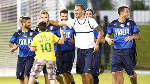 ĐT Italia đang đặt niềm tin vào các cầu thủ trẻ