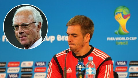 Beckenbauer sốc vì quyết định chia tay ĐTQG của Philipp Lahm