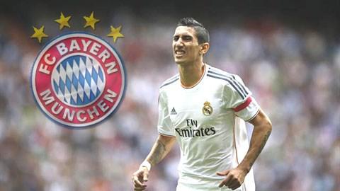 Bayern muốn có sự phục vụ của Di Maria