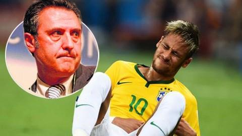 Bác sĩ Enric Caceres sẽ điều trị chấn thương cho Neymar