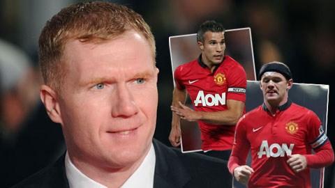 Paul Scholes tin Van Persie sẽ là đội trưởng M.U