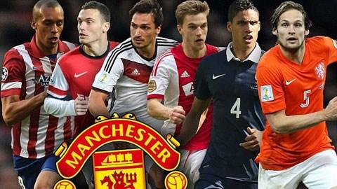 Ai sẽ là cầu thủ mà Van Gaal muốn mang về Old Trafford?