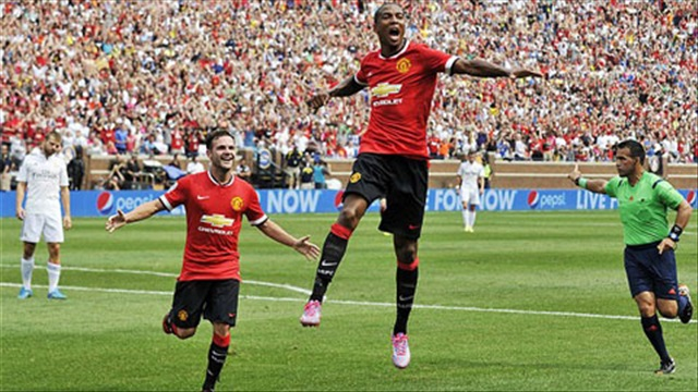Man Utd 3-1 Real Madrid (Guinness Cup 2014)