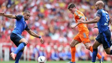 Valencia 2-2 Monaco: Tưng bừng khai mạc Emirates Cup