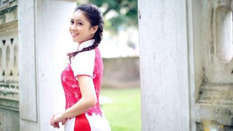 Dù mới 16 tuổi và chỉ tập luyện 3 buổi mỗi tuần, Trường Xuân vẫn là niềm hy vọng mới của dance sport Việt Nam