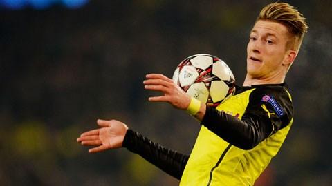Tiền vệ Marco Reus của Dortmund đang khiến cả châu Âu thèm muốn