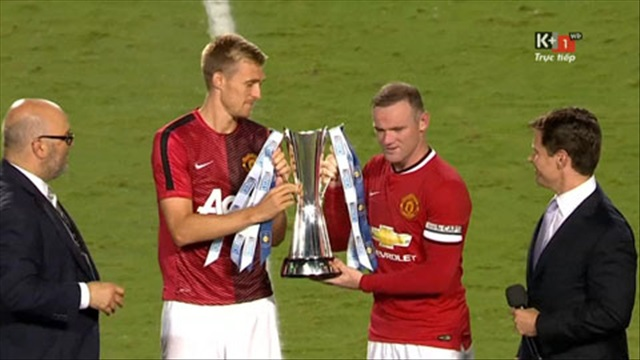 Manchester United 3-1 Liverpool: M.U vô địch International Champions Cup 2014