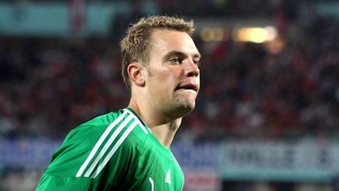 Manuel Neuer từng có thời gian bắt cho Schalke