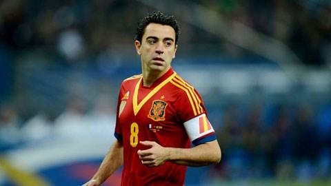 Xavi đã nói lời chia tay ĐT Tây Ban Nha