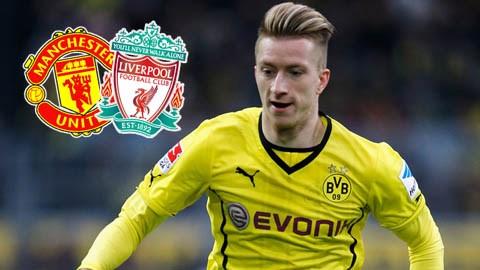 M.U và Liverpool đang nhắm Marco Reus
