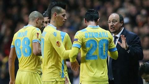 Mùa này HLV Benitez sẽ bay cao cùng Napoli khi có trong tay nhiều ngôi sao