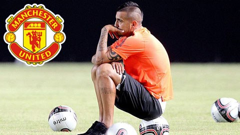 M.U vẫn tỏ ra lo lắng về chấn thương đầu gối của Vidal
