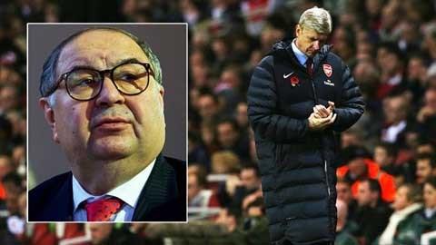 Nhà tài phiệt Usmanov cần mạnh tay trên TTCN nếu muốn Arsenal cạnh tranh trên các đấu trường mùa tới