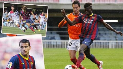 Edgar le (ảnh lớn) có thể chơi được cả ở vị trí trung vệ lẫn hậu vệ phải