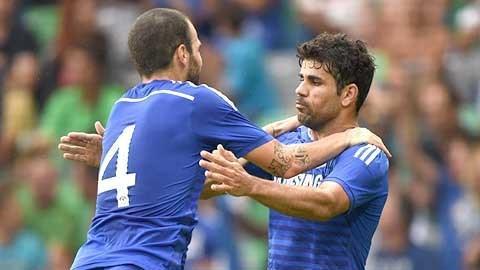 Với Fabregas và Diego Costa, Chelsea sẽ vận hành 4-3-3 trơn tru hơn?