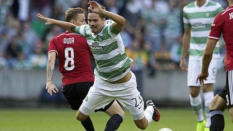 Để thua 1-6, Celtic vẫn may mắn lọt vào vòng play-off Champions League