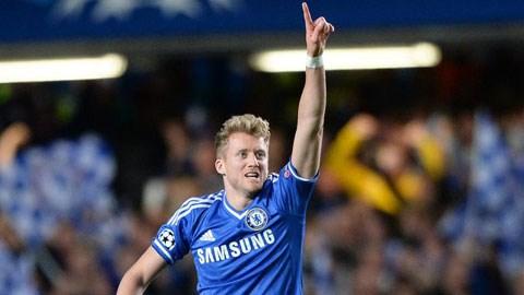 Schuerrle luôn biết cách tỏa sáng tại Chelsea
