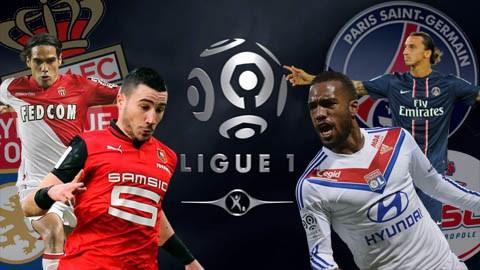 20 đội bóng của Ligue 1 mùa 2014/2015