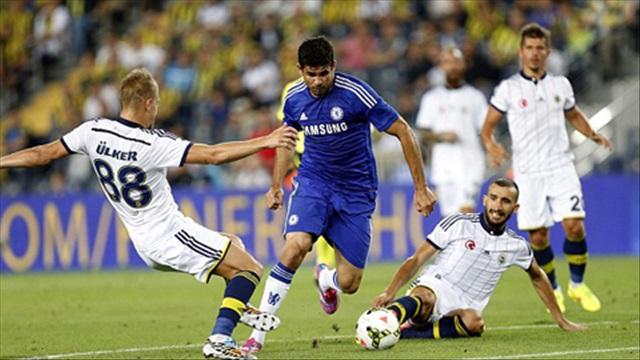 Fenerbahce 0-2 Chelsea (Giao hữu)